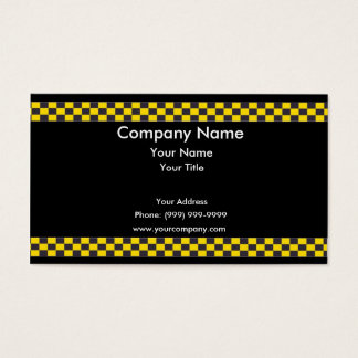 Taxi Border Business Card