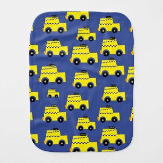 Taxi Burp Cloth