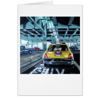 """Taxi"" by Trina Chow Card"