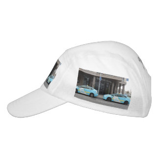 Taxi Cabs in Vilnius Lithuania Headsweats Hat