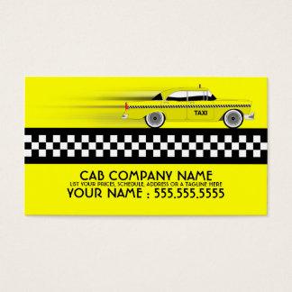 taxi cartes de visite