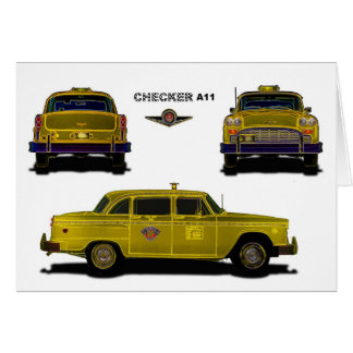 Taxi - Checker Card