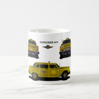 Taxi - Checker Coffee Mug
