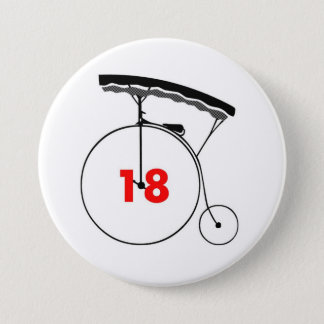 Taxi Driver 18 3 Inch Round Button