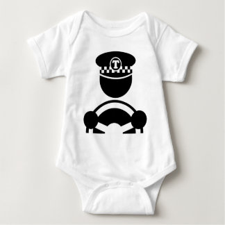 Taxi Driver Baby Bodysuit