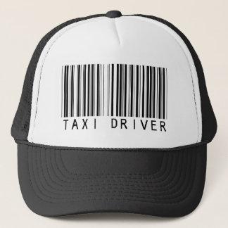 Taxi Driver Bar Code Trucker Hat