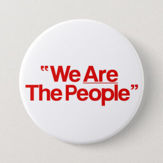 "Taxi Driver ""incoming goods of acres The People "" 3 Inch Round Button"