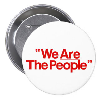 """Taxi Driver """"incoming goods of acres The People """" 3 Inch Round Button"""