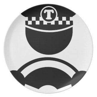 Taxi Driver Plate
