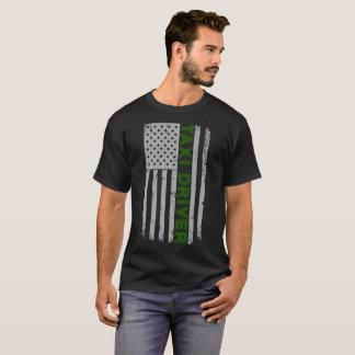 Taxi Driver U.S. Flag T-Shirt