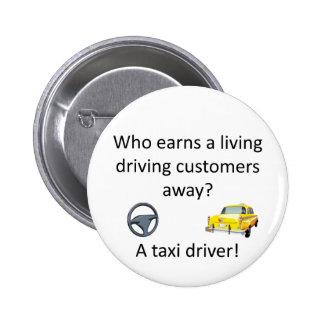 Taxi Joke 2 Inch Round Button