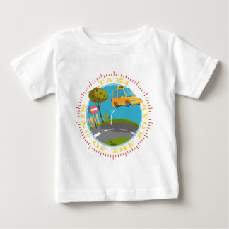 Taxi more driver comic king OF the road Baby T-Shirt
