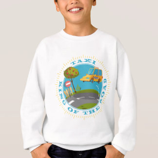 Taxi more driver comic king OF the road Sweatshirt