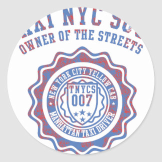 taxi nyc soul stickers