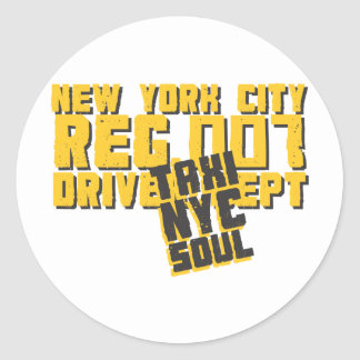 taxi nyc soul urban graphic stickers