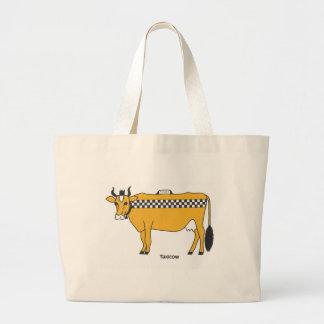 Taxicow Canvas Bag