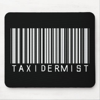 Taxidermist Bar Code Mouse Pad