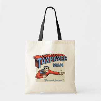 Taxpayer Man Tote Bag