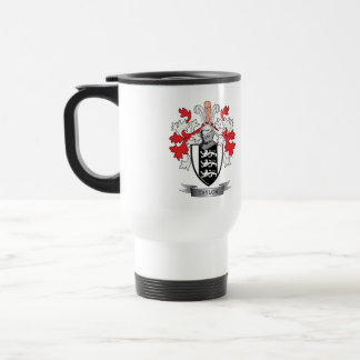 Taylor Family Crest Coat of Arms Travel Mug