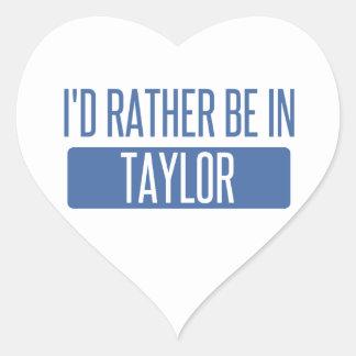 Taylor Heart Sticker