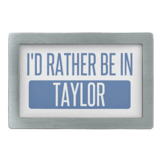 Taylor Rectangular Belt Buckles