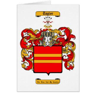 Taylor (Scottish) Card