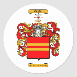 Taylor (Scottish) Classic Round Sticker