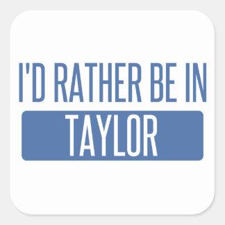 Taylor Square Sticker