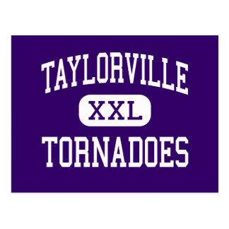 Taylorville - Tornadoes - Senior - Taylorville Postcard