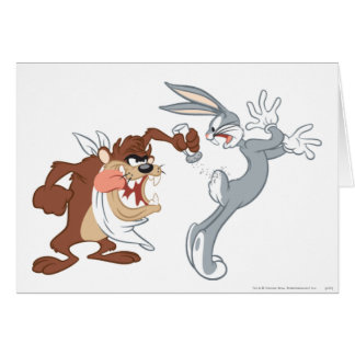TAZ™ and BUGS BUNNY™ Greeting Card