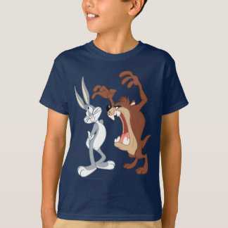 TAZ™ and BUGS BUNNY™ Not Even Flinching - Color T Shirts