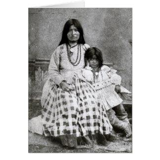 Taz-Ays-Slath, wife of Geronimo Card