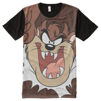 TAZ™ Bursting Through Page All-Over-Print T-Shirt