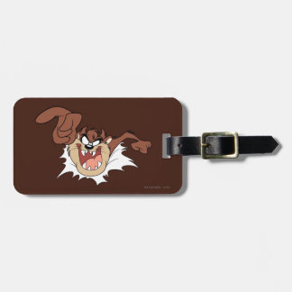 TAZ™ Bursting Through Page Luggage Tag