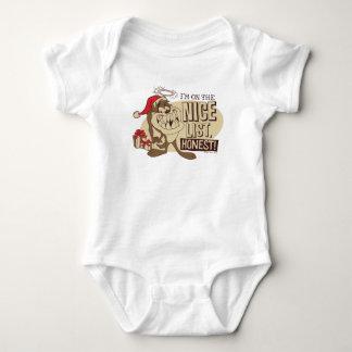 TAZ™- I'm On The Nice List Baby Bodysuit