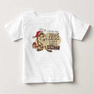 TAZ™- I'm On The Nice List Baby T-Shirt
