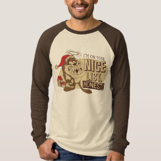 TAZ™- I'm On The Nice List T-Shirt