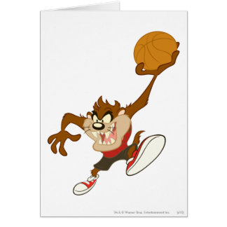 TAZ™ In Your Face Greeting Card