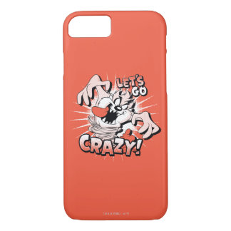 "TAZ™ ""Let's Go Crazy!"" Halftone iPhone 7 Case"