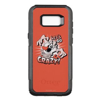 "TAZ™ ""Let's Go Crazy!"" Halftone OtterBox Commuter Samsung Galaxy S8+ Case"
