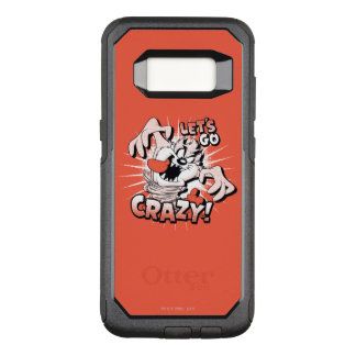 "TAZ™ ""Let's Go Crazy!"" Halftone OtterBox Commuter Samsung Galaxy S8 Case"