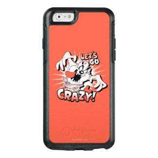 "TAZ™ ""Let's Go Crazy!"" Halftone OtterBox iPhone 6/6s Case"