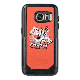 "TAZ™ ""Let's Go Crazy!"" Halftone OtterBox Samsung Galaxy S7 Case"