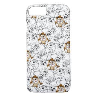 TAZ™ Line Art Color Pop Pattern iPhone 7 Case