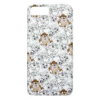 TAZ™ Line Art Color Pop Pattern iPhone 7 Plus Case