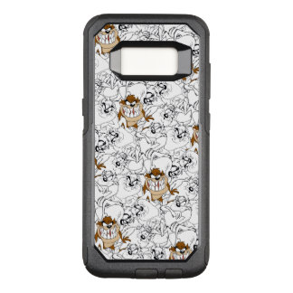 TAZ™ Line Art Color Pop Pattern OtterBox Commuter Samsung Galaxy S8 Case