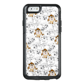 TAZ™ Line Art Color Pop Pattern OtterBox iPhone 6/6s Case