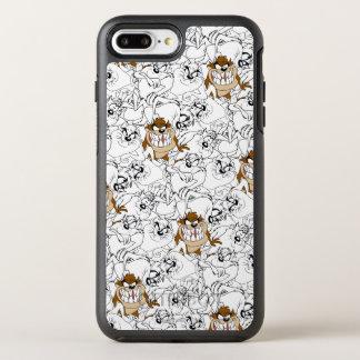 TAZ™ Line Art Color Pop Pattern OtterBox Symmetry iPhone 7 Plus Case