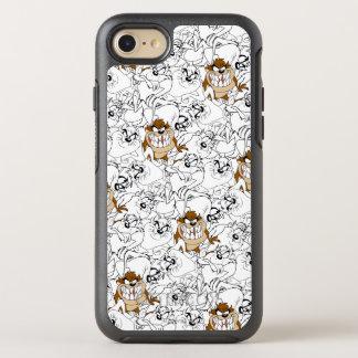 TAZ™ Line Art Color Pop Pattern OtterBox Symmetry iPhone 8/7 Case