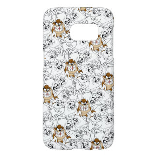 TAZ™ Line Art Color Pop Pattern Samsung Galaxy S7 Case